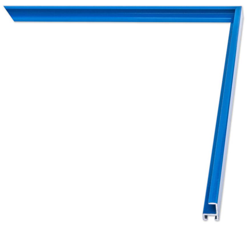 Nowoczesna Rama Aluminiowa Na Wymiar Luca 612 Alurama Alu A Na Zdjęcia Plakaty Rysunki I Dyplomy Niebieska