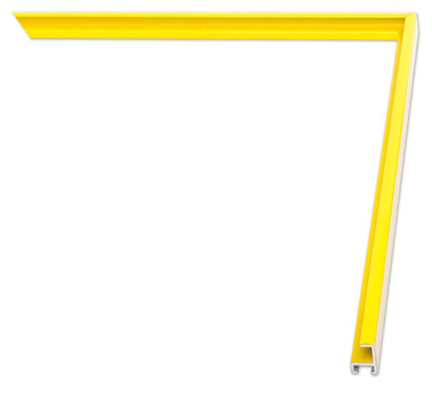 Nowoczesna Rama Aluminiowa Na Wymiar Luca 841 Alurama Alu A 10 Na Zdjęcia Plakaty Rysunki I Dyplomy żółta